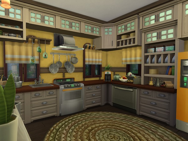 Sims 4 Gyor Castle by Ineliz at TSR