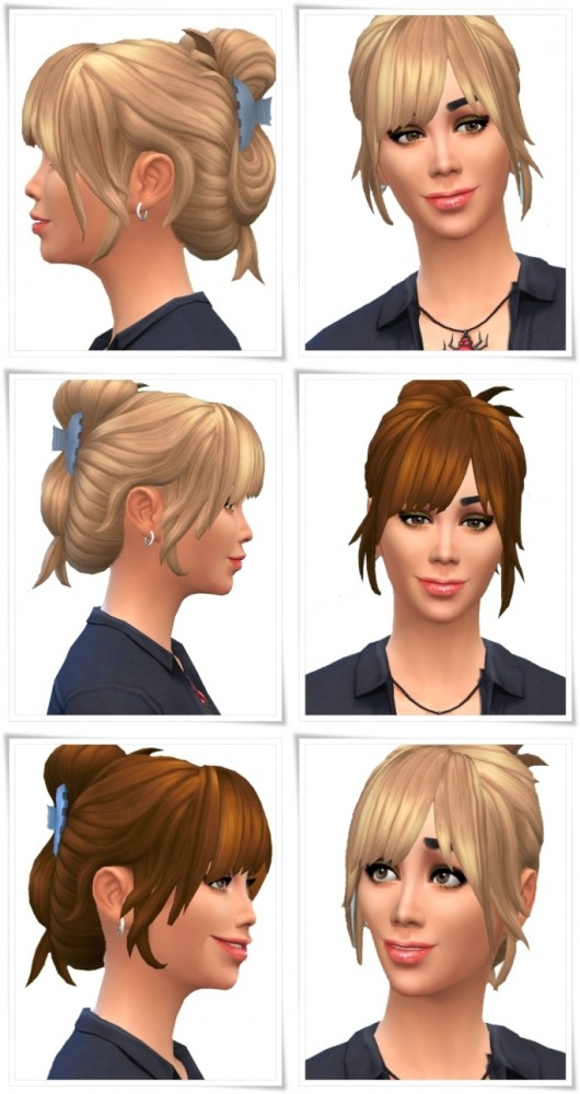 Limpio Hair female at Birksches Sims Blog image 10211 530x1000 Sims 4 Updates