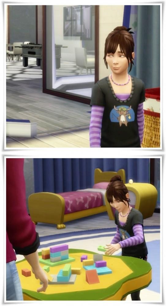 Sims 4 Limpio Hair for Girls at Birksches Sims Blog