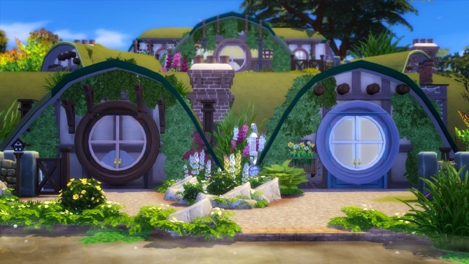 Hobbiton house at Akai Sims – kaibellvert image 10312 670x378 Sims 4 Updates