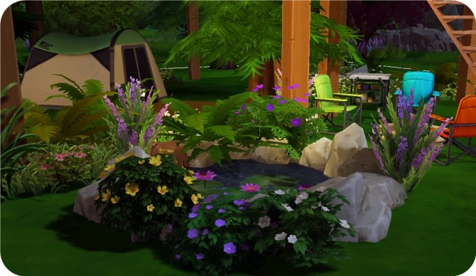 Sims 4 Emerald Cabin by lanafx at Mod The Sims