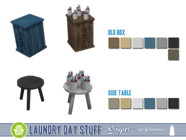 Laundry Day Stuff Separates by Waterwoman at Akisima image 10511 Sims 4 Updates