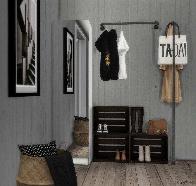 Sims 4 Lykke bedroom set at Sanoy Sims