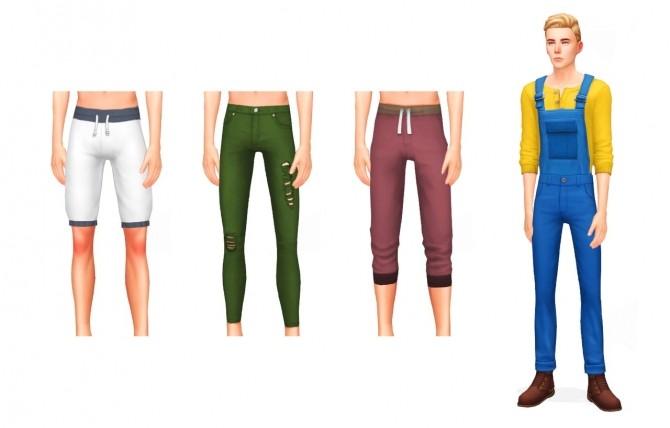 Sims 4 MENSWEAR FASHION PACK at Wyatts Sims