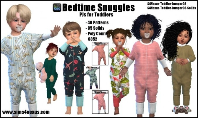 Bedtime Snuggles by SamanthaGump at Sims 4 Nexus image 1053 670x402 Sims 4 Updates