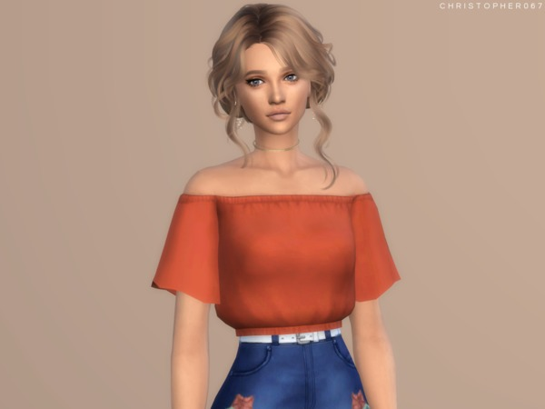 Temptress Top by Christopher067 at TSR image 1060 Sims 4 Updates