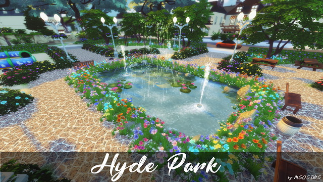 Hyde Park at MSQ Sims image 1061 Sims 4 Updates