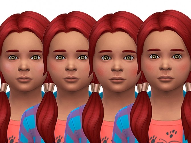 Healthy blushes for children by Simalicious at Mod The Sims image 1062 670x503 Sims 4 Updates