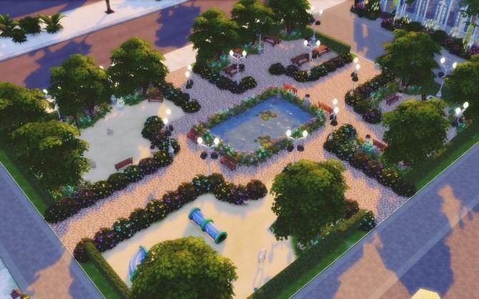 Sims 4 Hyde Park at MSQ Sims