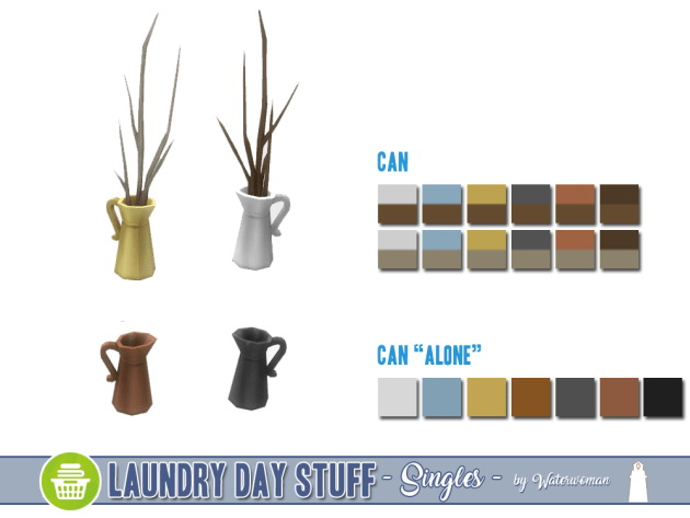 Laundry Day Stuff Separates by Waterwoman at Akisima image 10710 Sims 4 Updates