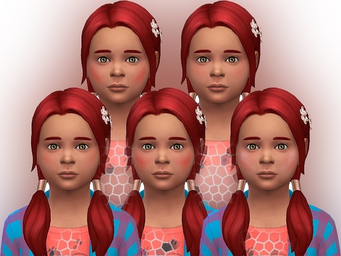 Healthy blushes for children by Simalicious at Mod The Sims image 1072 670x503 Sims 4 Updates