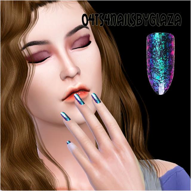Sims 4 Nails #04 at All by Glaza