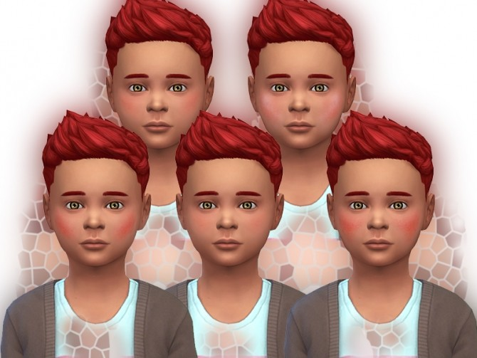 Healthy blushes for children by Simalicious at Mod The Sims image 1081 670x503 Sims 4 Updates