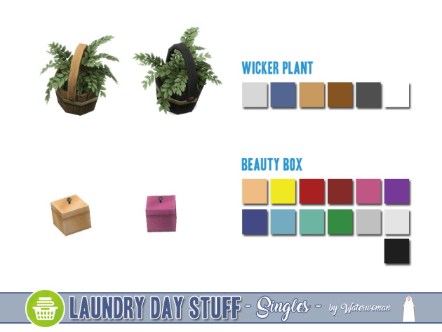 Laundry Day Stuff Separates by Waterwoman at Akisima image 10810 Sims 4 Updates
