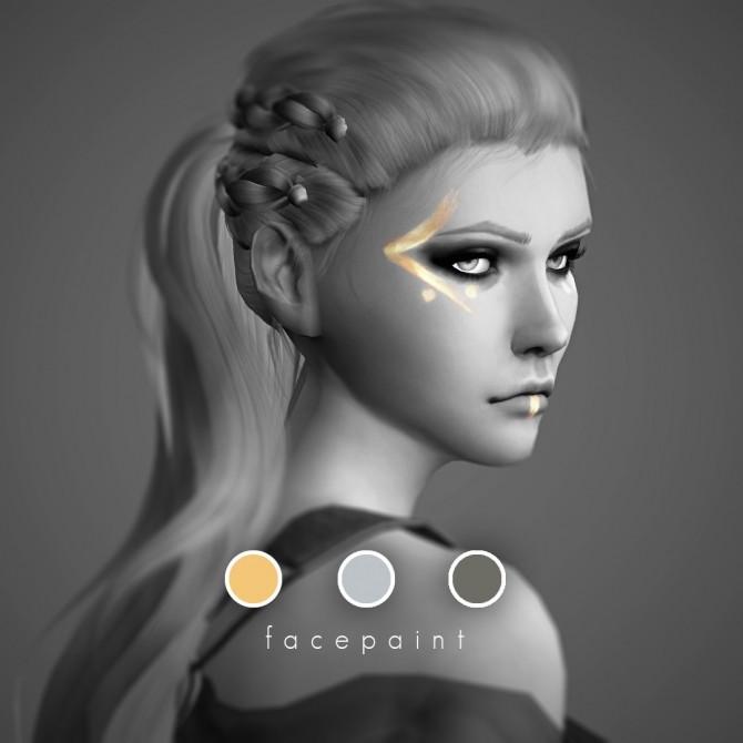 Queen Lagertha Facepaint at Magnolian Farewell image 11019 670x670 Sims 4 Updates