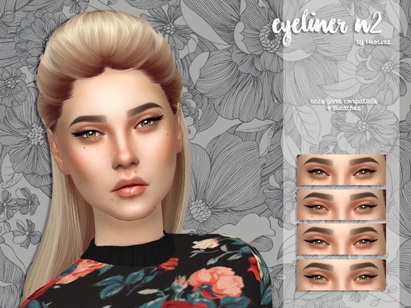 Eyeliner N2 by Heolims at TSR image 1104 Sims 4 Updates