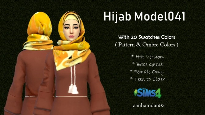 Hijab Model041 & 042 at Aan Hamdan Simmer93 image 1107 670x377 Sims 4 Updates