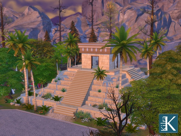 The Forgotten Temple by kilra at TSR image 1108 Sims 4 Updates