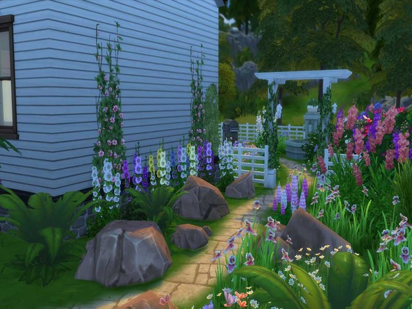 Sims 4 Serenity Point house by staralien at TSR