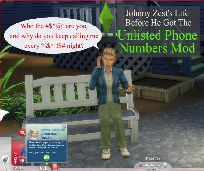 Unlisted Phone Numbers by scumbumbo at Mod The Sims image 1114 670x562 Sims 4 Updates