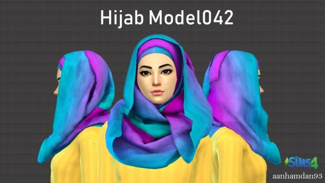 Hijab Model041 & 042 at Aan Hamdan Simmer93 image 1116 670x377 Sims 4 Updates