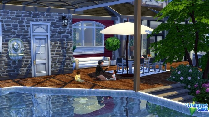 Cocon Chic house by Tom Matthew at L'UniverSims image 11213 670x377 Sims 4 Updates