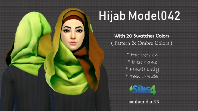 Hijab Model041 & 042 at Aan Hamdan Simmer93 image 1123 670x377 Sims 4 Updates