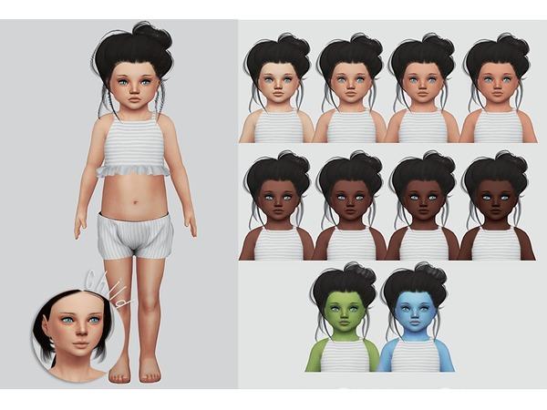 Sims 4 Wisteria Skin by Kalewa a at TSR