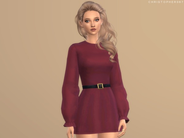 Into It Dress by Christopher067 at TSR image 1148 Sims 4 Updates
