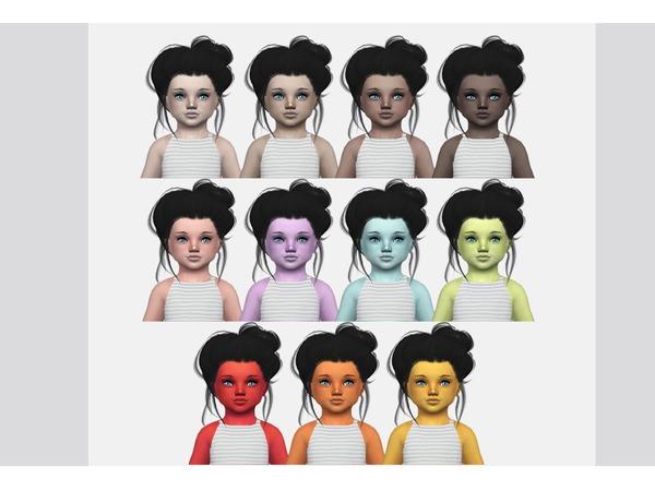 Wisteria Skin by Kalewa a at TSR image 1154 Sims 4 Updates
