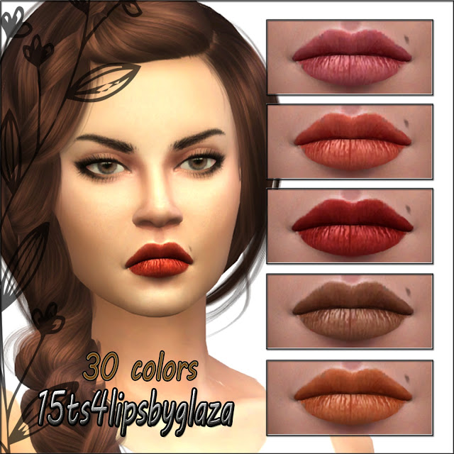 Sims 4 Lips #15 at All by Glaza
