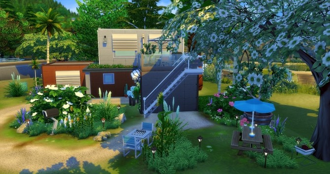 Container House by Angerouge at Studio Sims Creation image 11615 670x355 Sims 4 Updates