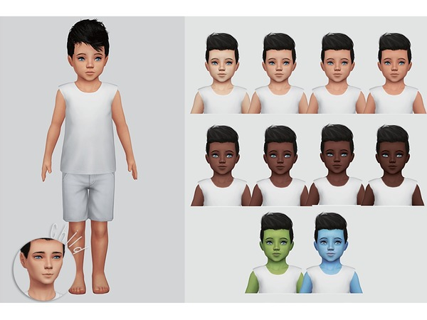 Wisteria Skin by Kalewa a at TSR image 1164 Sims 4 Updates
