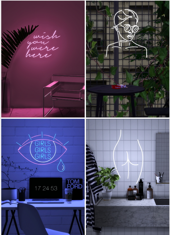Neon Bedroom Accessories