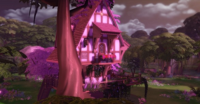 Sylvan Glade Fairy House By Artrui At Mod The Sims 187 Sims 4 Updates