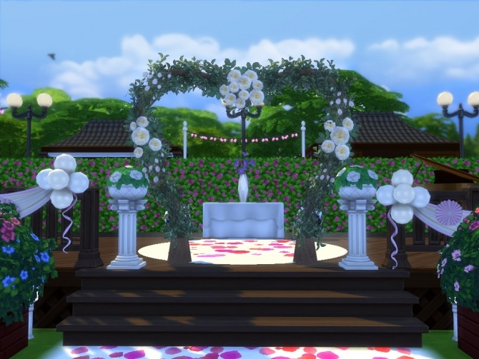 Hana Wedding Venue by EzzieValentine at Mod The Sims image 1202 670x503 Sims 4 Updates