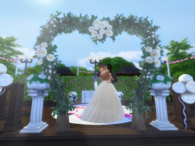 Hana Wedding Venue by EzzieValentine at Mod The Sims image 1214 670x503 Sims 4 Updates