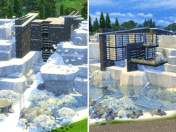 PENGUIN house by dasie2 at TSR image 1217 Sims 4 Updates