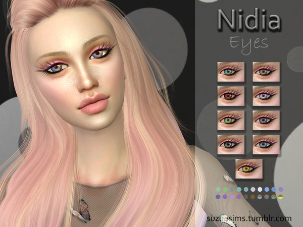 Nidia Eyes N5 by Suzue at TSR image 1219 Sims 4 Updates