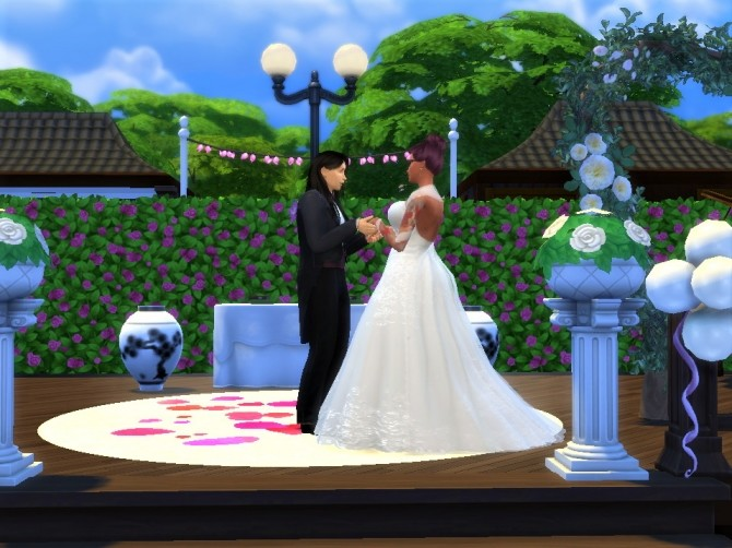 Sims 4 Hana Wedding Venue by EzzieValentine at Mod The Sims