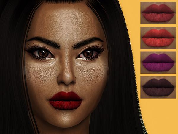 Emma lipstick by Sharareh at TSR image 1225 Sims 4 Updates