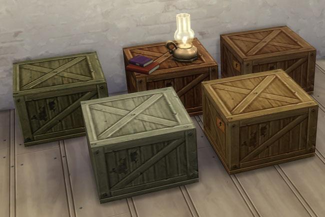 Sims 4 Box corner by mammut at Blacky's Sims Zoo