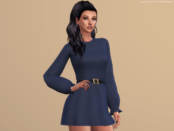 Into It Dress by Christopher067 at TSR image 1238 Sims 4 Updates