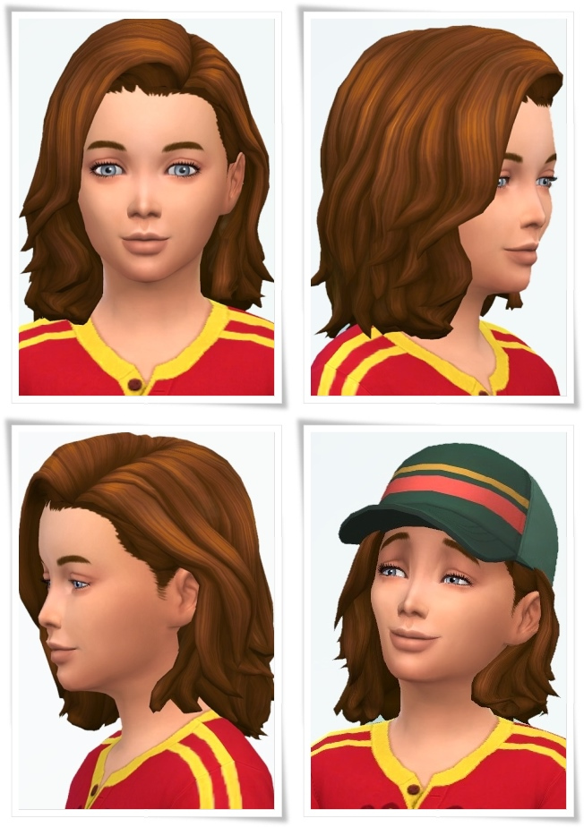 Sims 4 Emil Needed Hair at Birksches Sims Blog