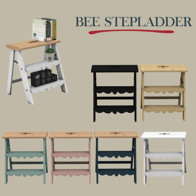 Bee Stepladder at Leo Sims image 1254 670x670 Sims 4 Updates