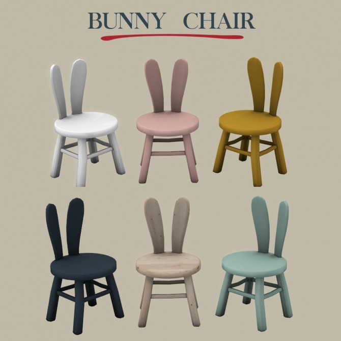 Bunny Chair at Leo Sims image 1264 670x670 Sims 4 Updates