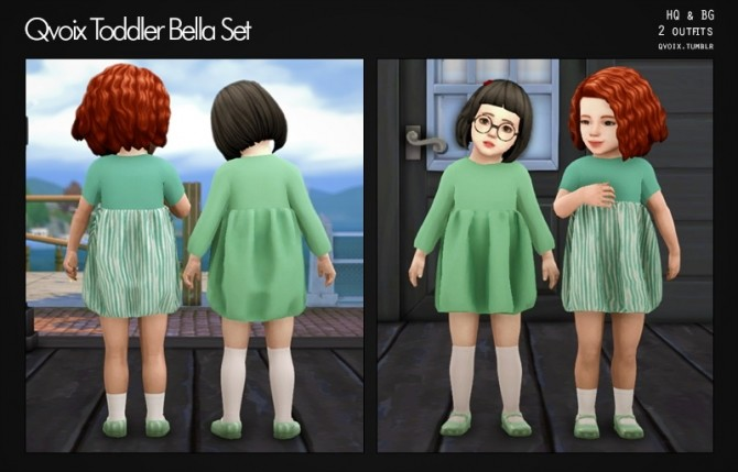 Sims 4 Bella Set T at qvoix – escaping reality