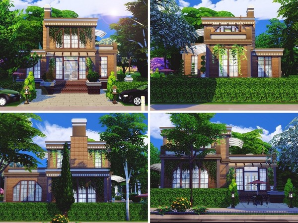 Contemporary Townhouse by MychQQQ at TSR image 1280 Sims 4 Updates