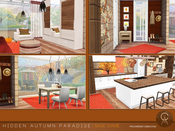 Hidden Autumn Paradise by Pralinesims at TSR image 129 Sims 4 Updates