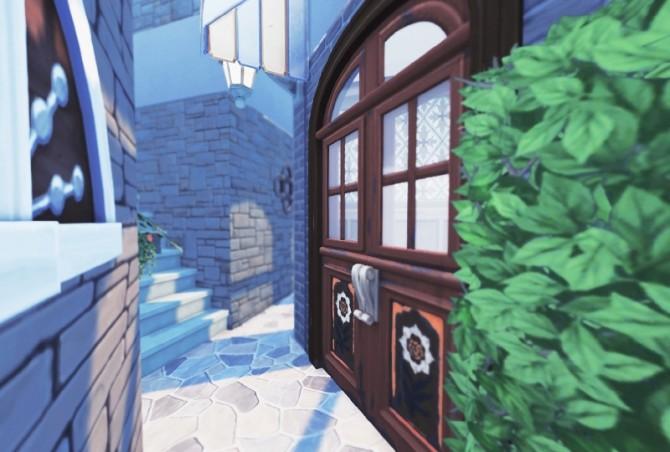 Sims 4 Fake Alleyscape at Imadako